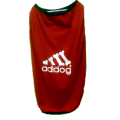 T-Shirt: Adidog red Jersey
